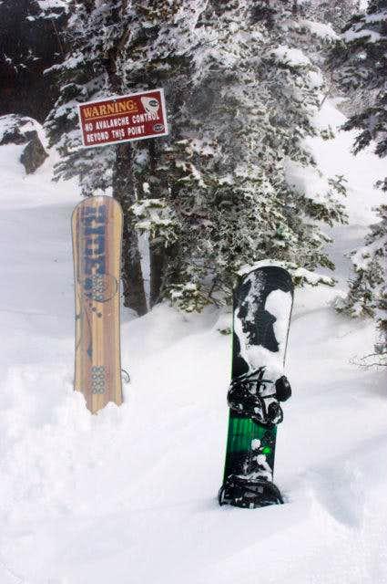 Three Way Peak No Avalanche Control