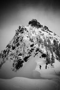 Three Way Peak from the NW Ridge