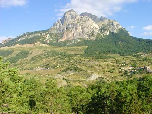 Pedraforca from old road...