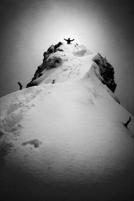 Summit of Three Way Peak