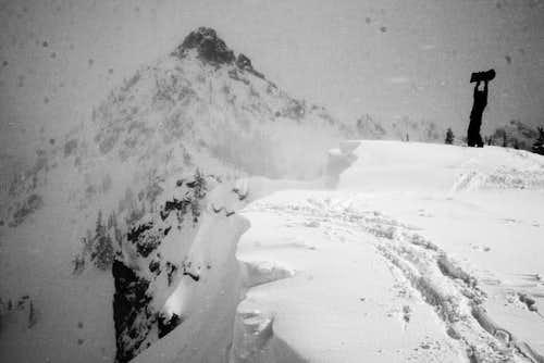 Three Way Peak from Box Car Cornice