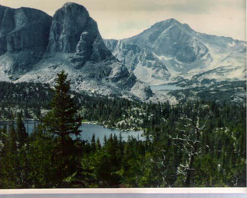 Payson Peak and Washakie Peak