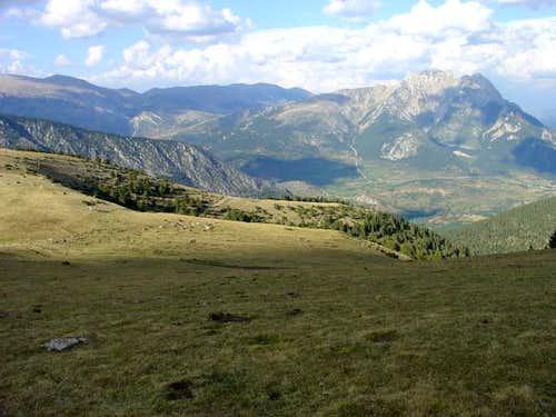 Pedraforca from serralada del...