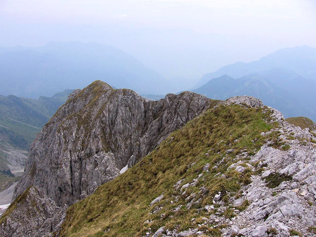 The ring of Corzene Peak