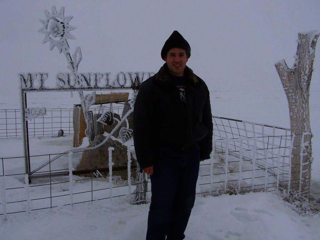 Myself at Mt. Sunflower