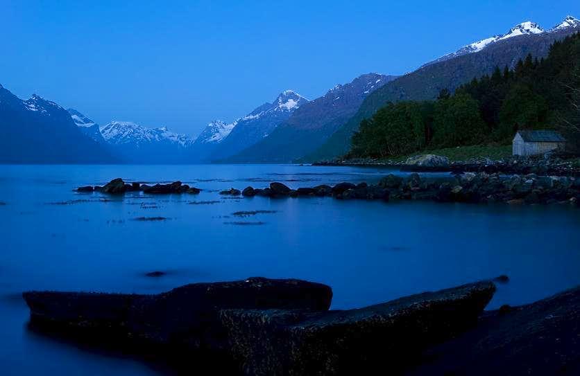 Summer Night in Norway