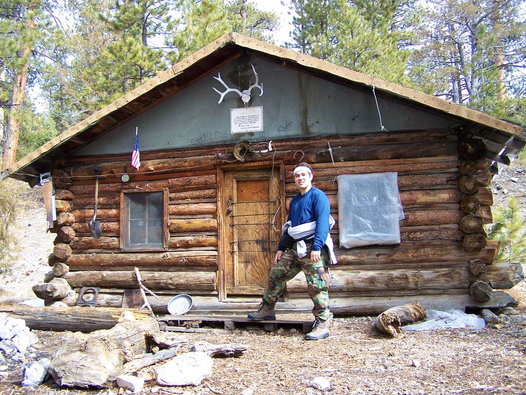 Myself and Hidden Forest Cabin s Diagrams & Topos SummitPost