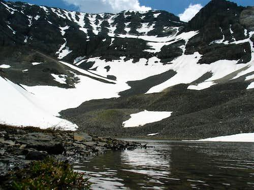 USGS peak N. Face