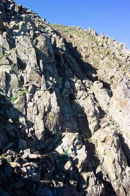Upper N. ridge, Trinchera...