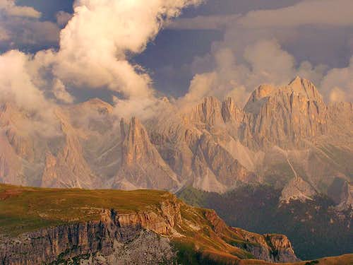 Legends and fairy tales from Western Dolomites