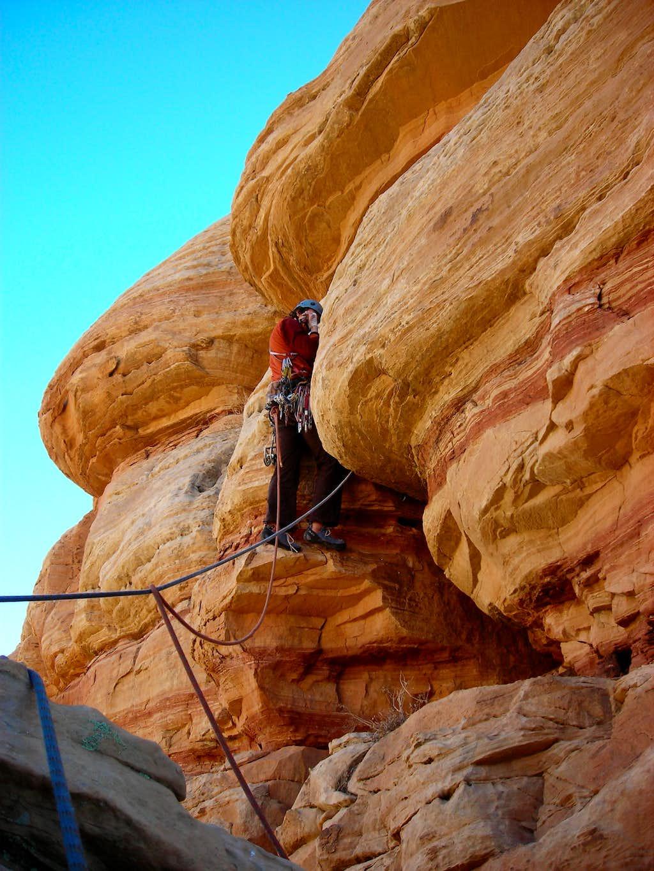 North Face - West Cracks