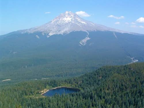 View of Mirror Lake and Mt....