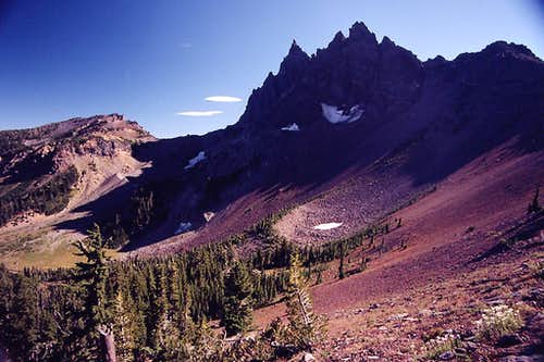 Three Finger Jack from the Pacific Crest Trail