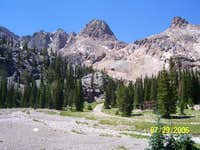 Boulder Peak from Boulder Basin