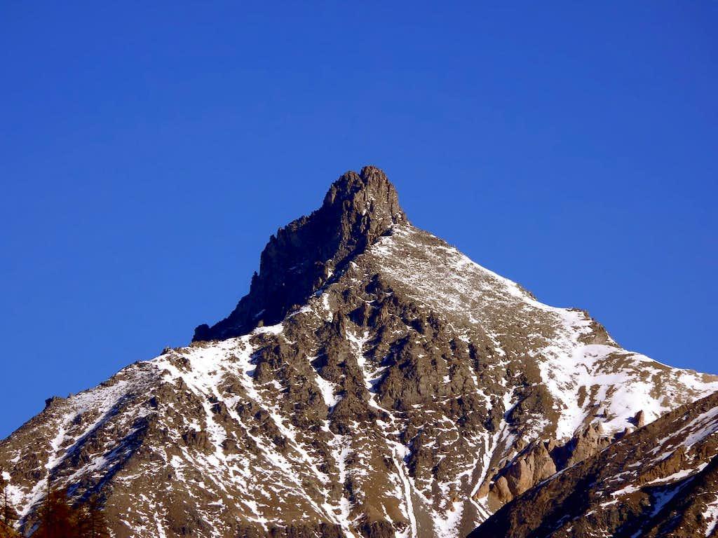 il Gran Nomenon (3488 m), versante sud
