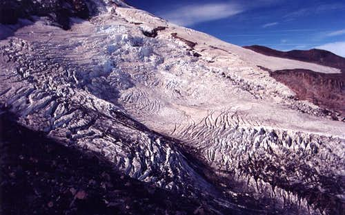 Elliot Glacier from Cooper Spur