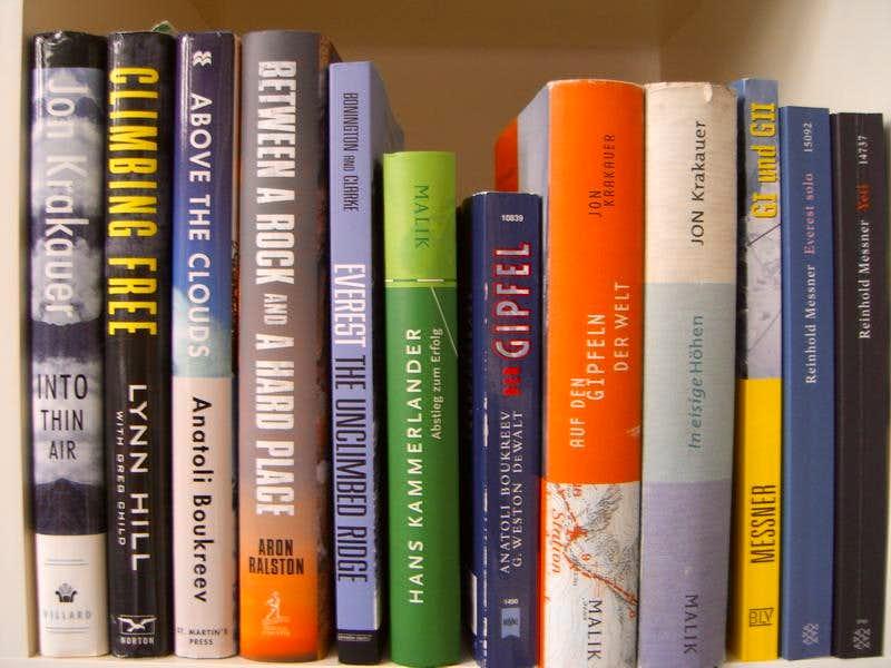 Books english and german