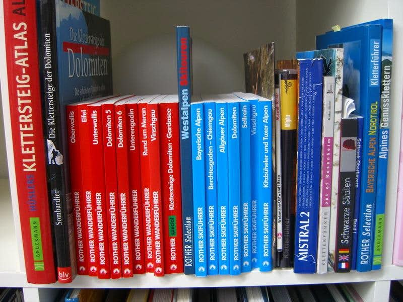 Ski, via ferrata and Hiking books