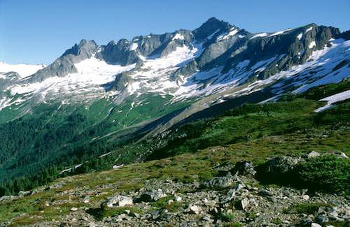 Forbidden Peak from Sahale Arm