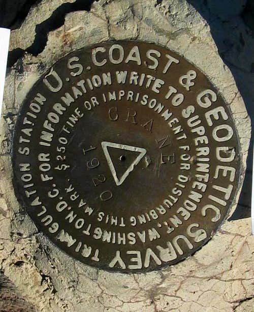 Crane Mountain Benchmark (OR)