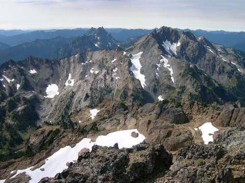 Mount Skokomish (right...