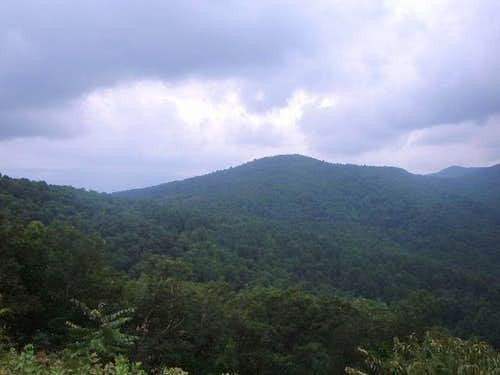 Weaver Mountain from Skyline Drive
