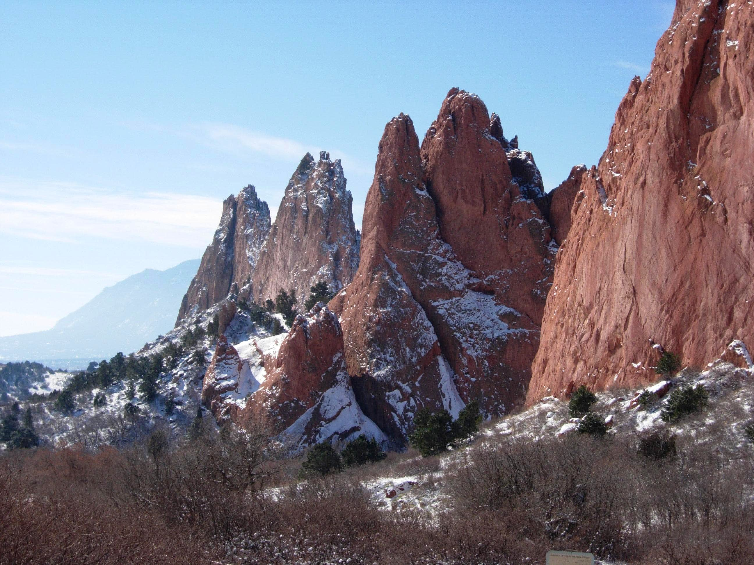 Bob\'s Buttress Crack (Garden of the Gods )