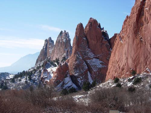 Bob's Buttress Crack (Garden of the Gods )