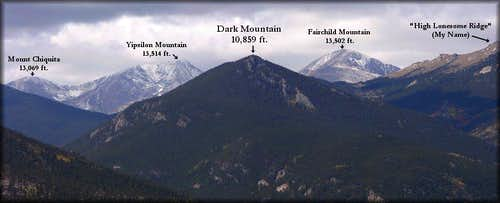 Dark Mountain from