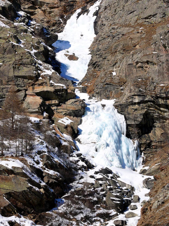 Waterfall of the Nivolet (Valsavarenche)