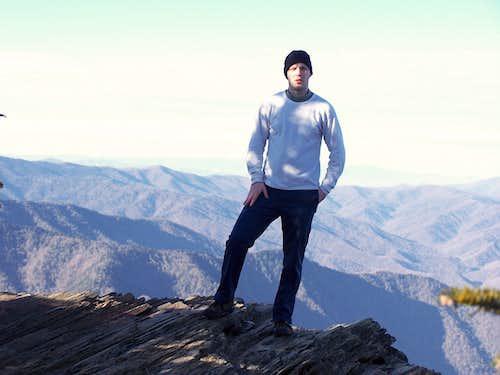 Summit of Mt. Leconte