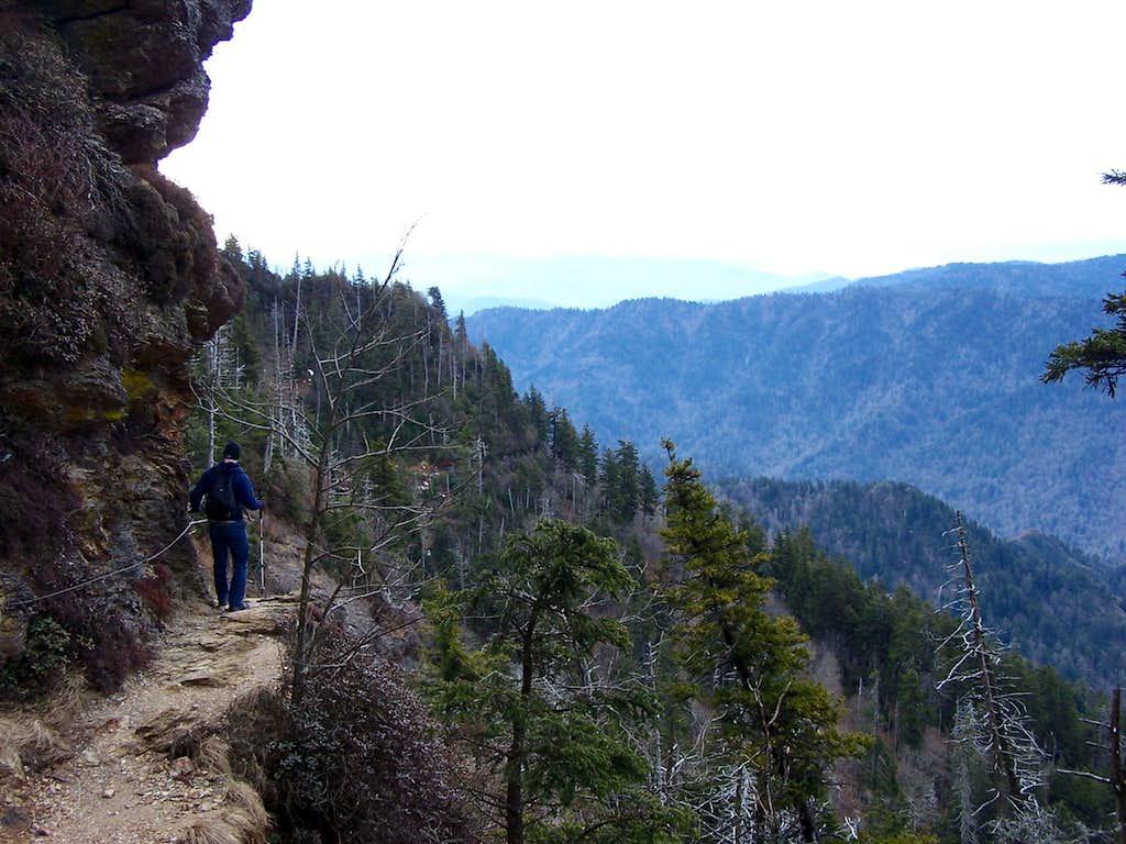 Alum Cave Trail, Mt. Leconte