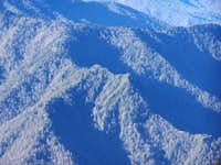 Chimney Tops from Mt. Leconte