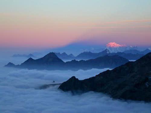 Magnificent sunrise...