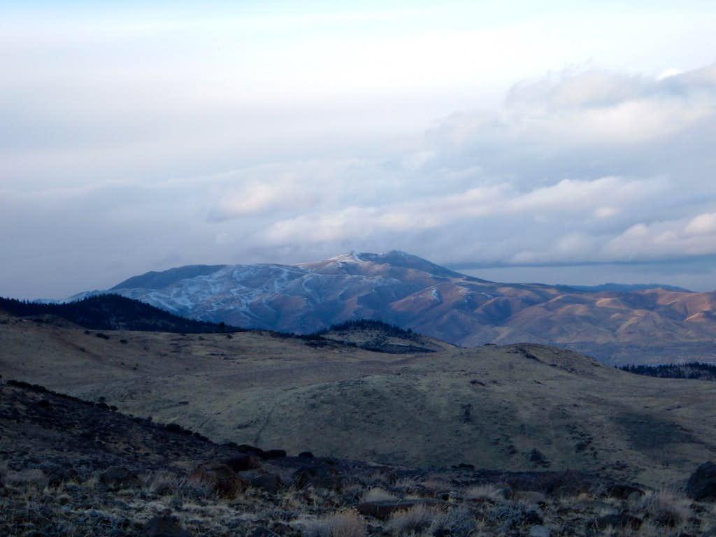 Peavine Peak at dusk