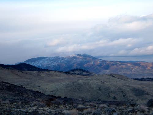 Peavine Peak at dusk