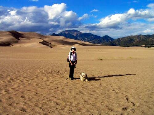 In Colorado\'s Great Sand Dunes