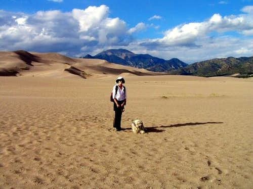 In Colorado's Great Sand Dunes
