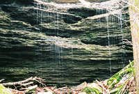 Delicate Waterfall at Devil's Den