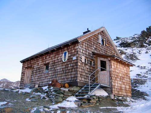 Winterraum of Stüdlhütte