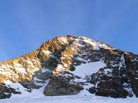 Grossglockner in February morning lights
