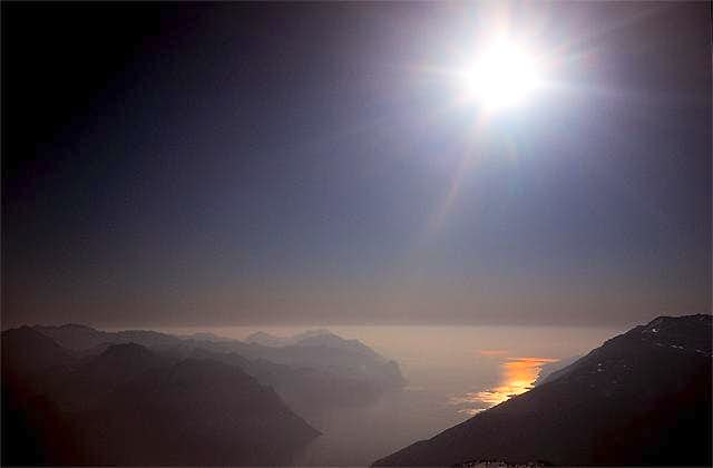 Garda lake from Stivo Summit