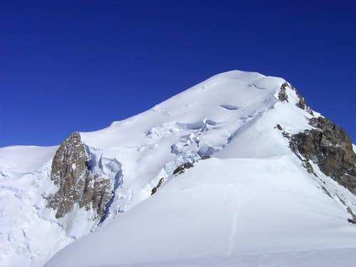 Mont Blanc with Bosses ridge
