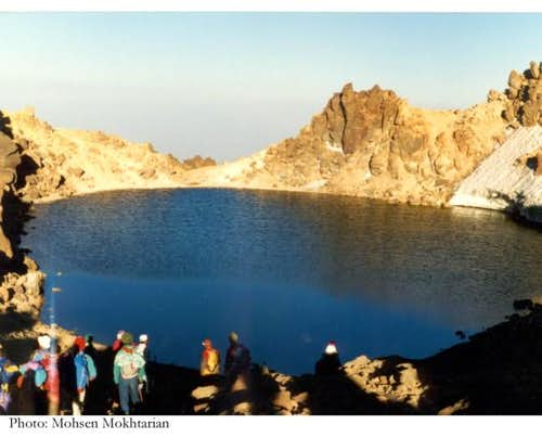 the little lake on Sabalaan's...