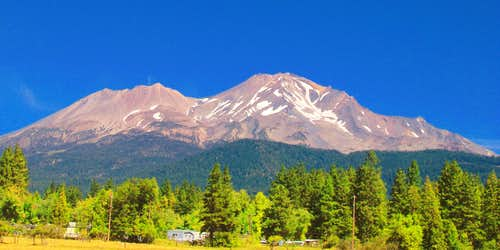 Shasta from Shasta City
