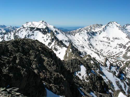 Altair and Standhope peaks