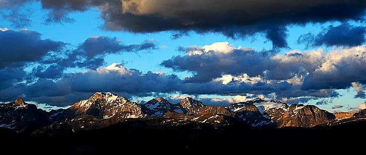 Septet Peaks in the Purcell Range
