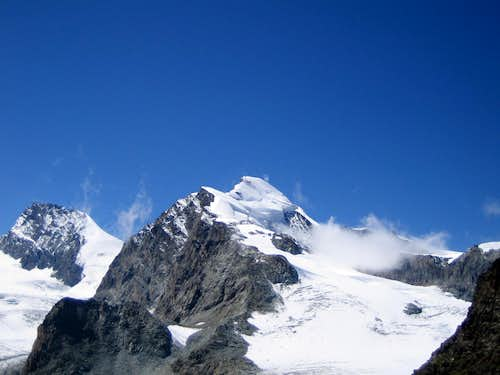 Allalinhorn and Rimpfischhorn