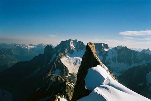 Aiguille Verte - Mont Mallet