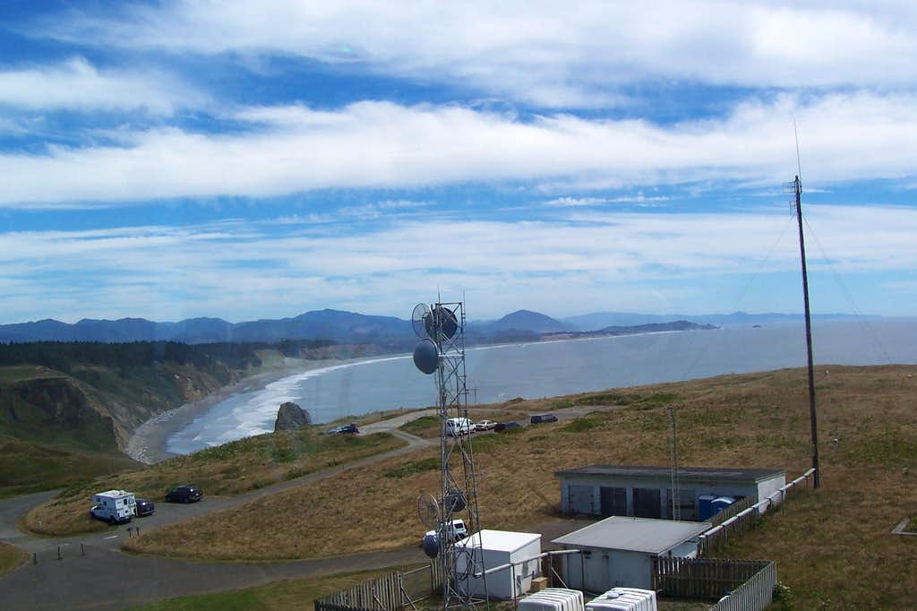 From Cape Blanco